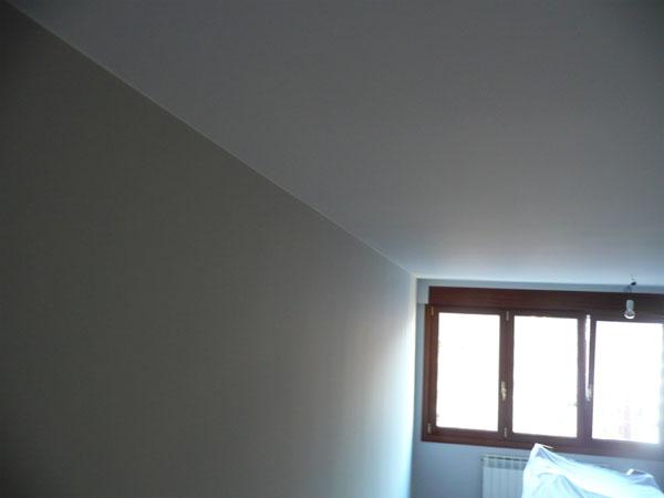 Alisado de paredes y techos para decoraci n de interiores for Diseno de interiores san sebastian