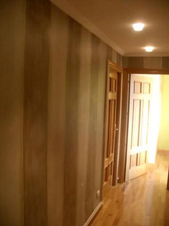 Pintura decorativa para decoraci n de interiores en for Diseno de interiores san sebastian