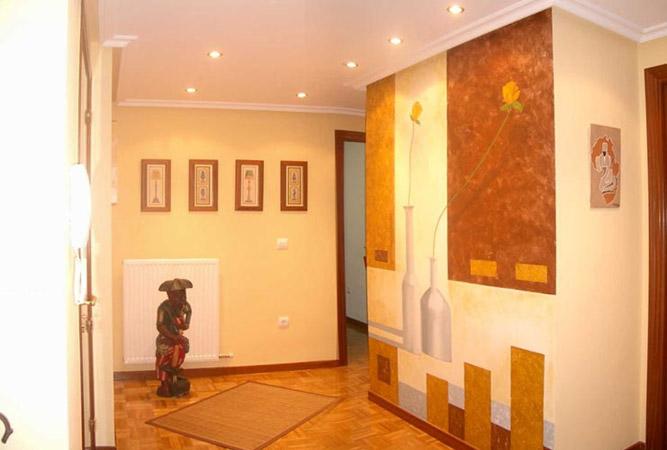 pintura decorativa para decoraci n de interiores en ForDiseno De Interiores Vitoria Gasteiz
