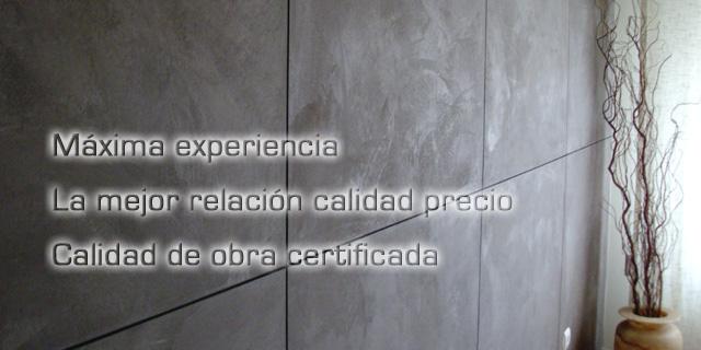 Microcementos artepint decoraci n de interiores en - Que es el microcemento ...